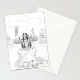 Shaman's Breath Stationery Cards