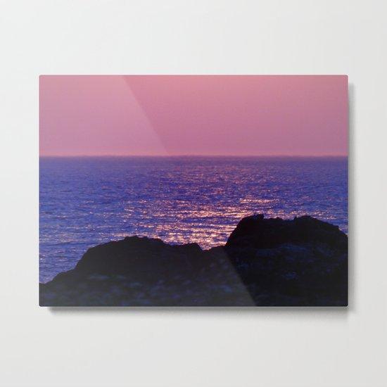 Pink at Dawn Metal Print