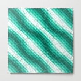 WAVES - 2B Metal Print