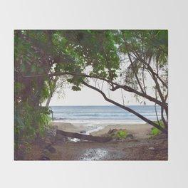 Playa Tamarindo Throw Blanket