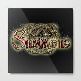 Summons logo Metal Print