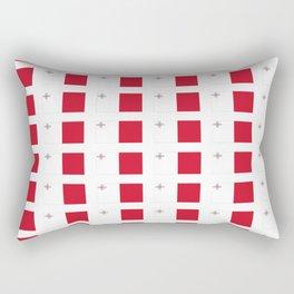 flag of Malta-maltese,maltes,malti,valletta,birkirkara,mosta,Gozo,mediterranenan Rectangular Pillow