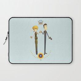 Battlestar couple Laptop Sleeve