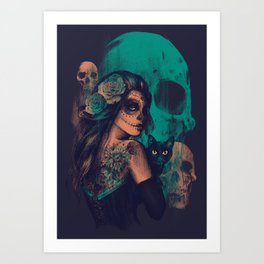 UNTIL THE VERY END Art Print