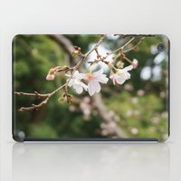 sakura iPad Cases featuring sakura by artsimo