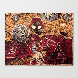 URANIUM RIVER Canvas Print