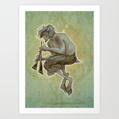 Faune Alan Art Print