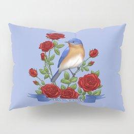 New York State Bird and Flower Pillow Sham