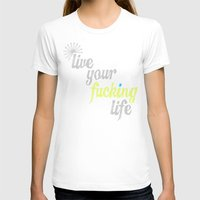 yolo T-shirts featuring #YOLO by Shipwreck Moon Designs