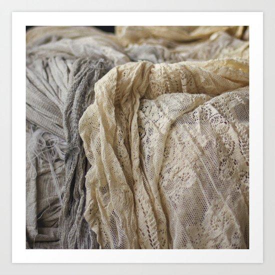 Lace Art Print