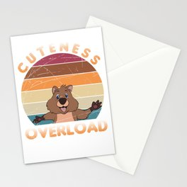 Quokka Cuteness Overload Stationery Cards