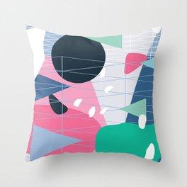 Abstract Moon. 1980. Throw Pillow