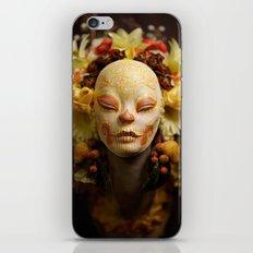 Golden Harvest Muertita Detail iPhone & iPod Skin