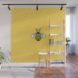 Don t worry – Bee happy – A Hell Songbook Edition Wall Mural