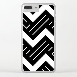 Artis 2.0, No.8 in Black & Gold Clear iPhone Case