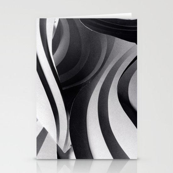Paper Sculpture #5 Stationery Cards