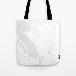 Classical Music Background Tote Bag