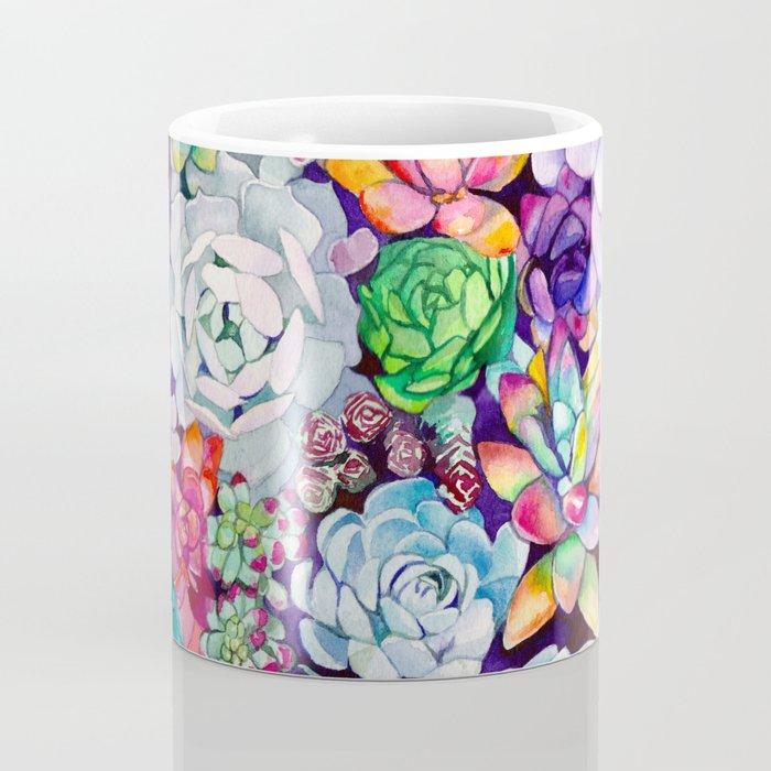 Succulent Garden Kaffeebecher