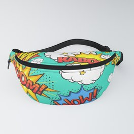 Comic explosion Fanny Pack