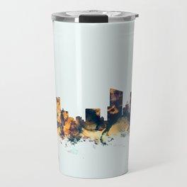 Grand Rapids Michigan Skyline Travel Mug