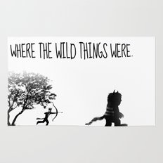 Where the wild things were. Rug