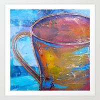 My Cup of Tea Art Print