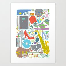 Lost Something? Art Print