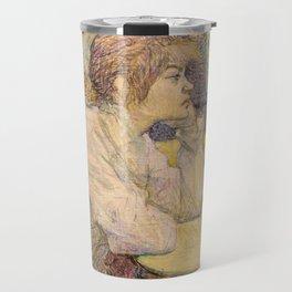 "Henri de Toulouse-Lautrec ""The Hangover (Suzanne Valadon)"" Travel Mug"