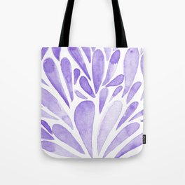 Watercolor artistic drops - lilac Tote Bag