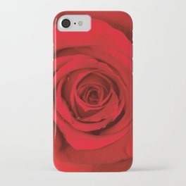 Lovely Red Rose iPhone Case