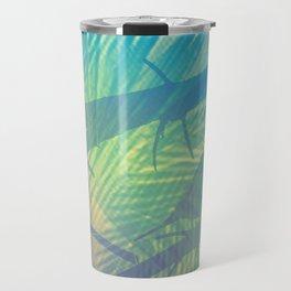 Palm bird Travel Mug