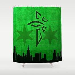 Chicago Enlightened 01 Shower Curtain