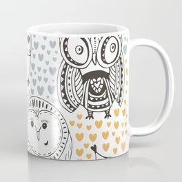 Owls Being Owls Coffee Mug