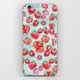 Strawberry Patch iPhone Skin