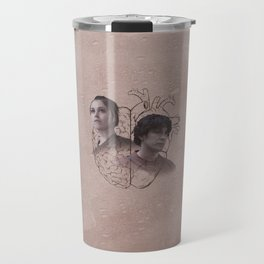 The Head and the Heart Travel Mug