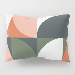Mid Century Geometric 15 Pillow Sham