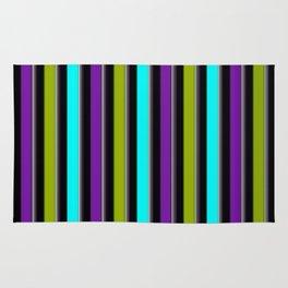 VERTICAL Retro Candy Stripe Rug