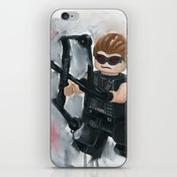 avenger iPhone & iPod Skins featuring Avenger Lego by Toys 'R' Art