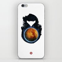 metroid iPhone & iPod Skins featuring Metroid Prime by Ian Wilding