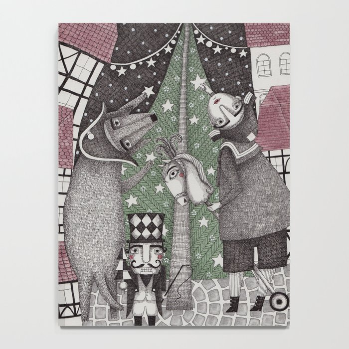 Of Snow and Stars and Christmas Wishes Notebook