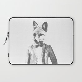 Fox in Business Sox Laptop Sleeve