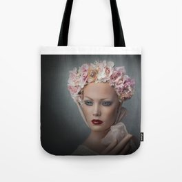 Flower Chid Tote Bag