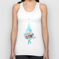 monster hunter Tank Tops featuring hunter by Anne  Martwijit