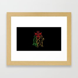 My Hero Academia v1 Framed Art Print