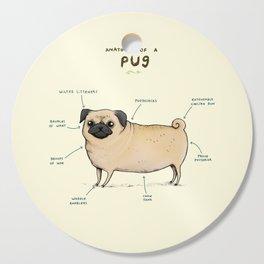 Anatomy of a Pug Cutting Board