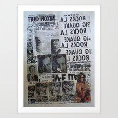 MORE NEWS Art Print