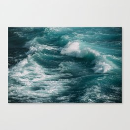 waves #society6 #decor #buyart Canvas Print