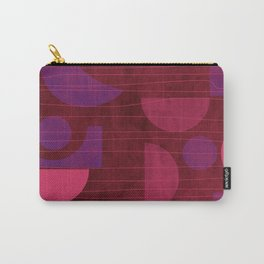 Pink and Purple Moons Carry-All Pouch