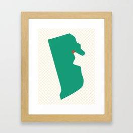 Providence, Rhode Island Framed Art Print