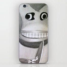 Clapping Monkey iPhone Skin